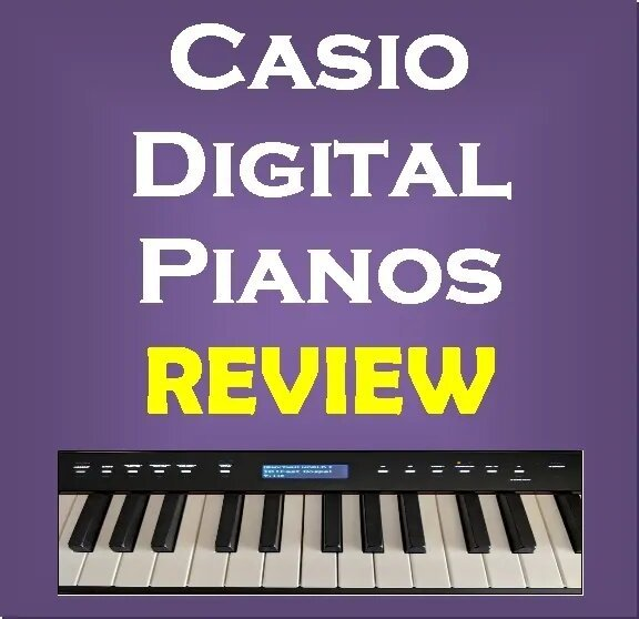 Casio digital pianos review